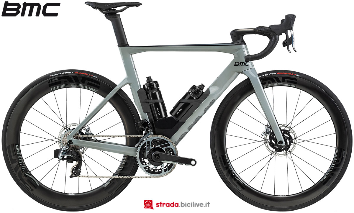 Una bici BMC Timemachine Road 01 One 2020