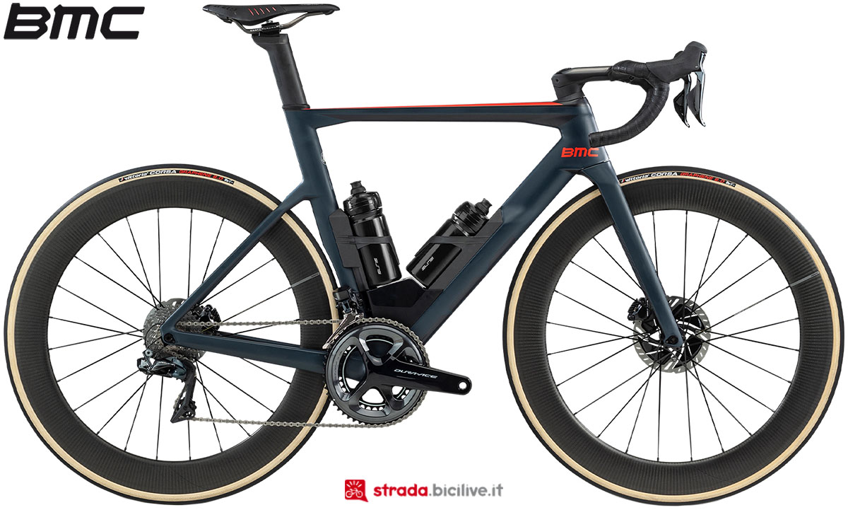 Una bici BMC Timemmachine Road 01 Two 2020
