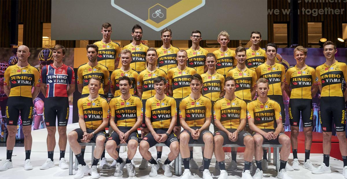 La squadra UCI World Tour 2020 della Jumbo Visma