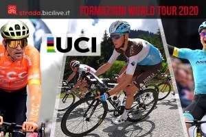 Tutte le squadre dell'UCI World Tour 2020