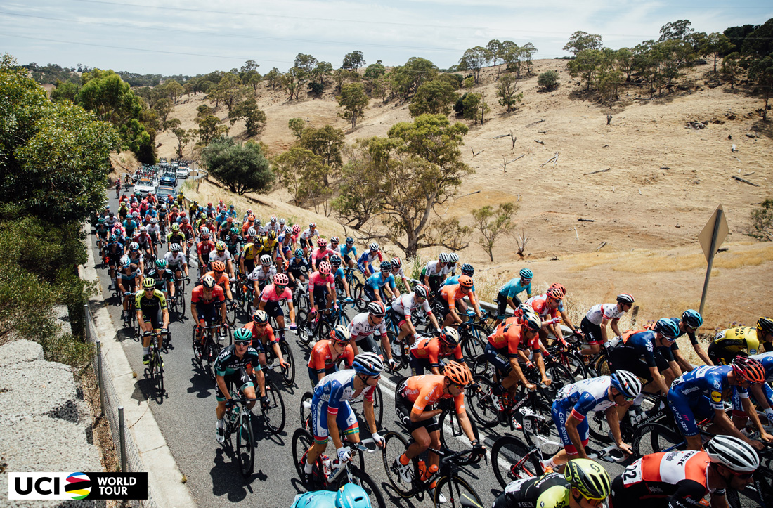 Ciclisti delle squadre UCI World Tour in gara