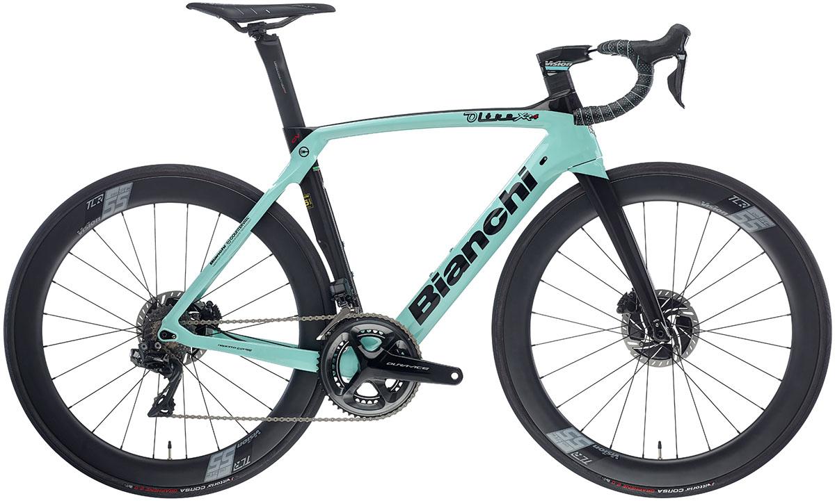 La bici Bianchi Oltre XR.4 (Team Lotto NL-Jumbo) 2020