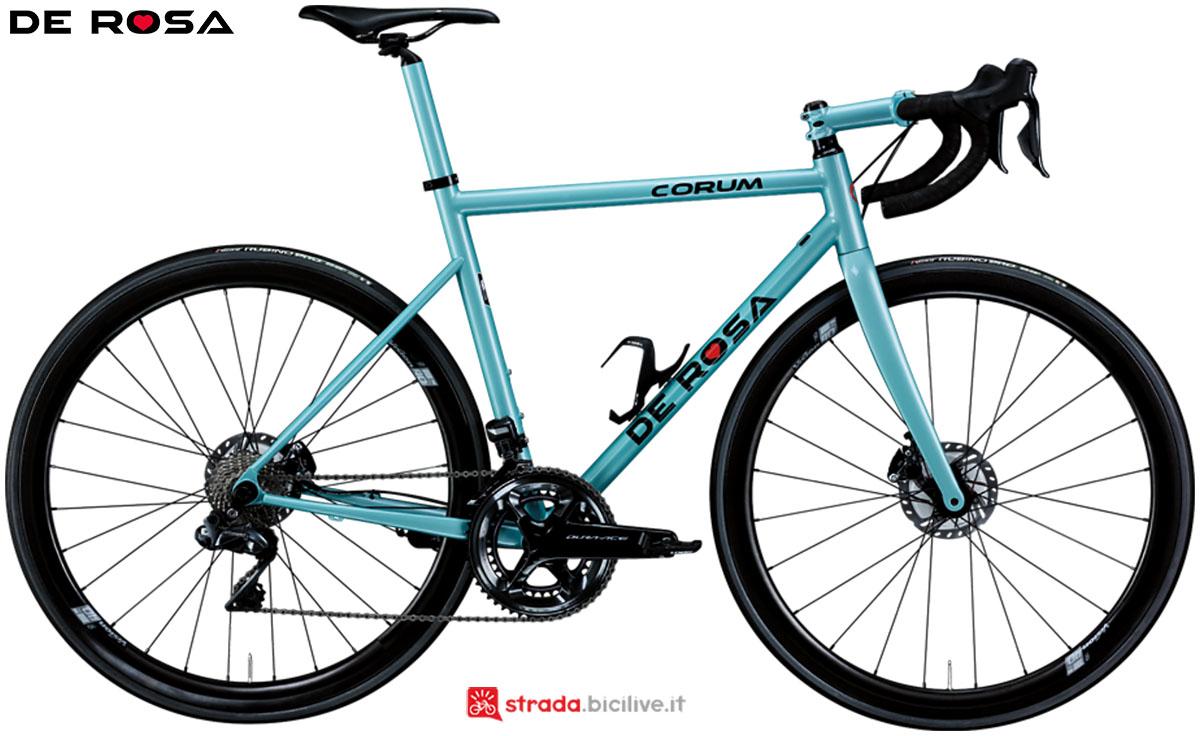 Una bici De Rosa Corum 2020