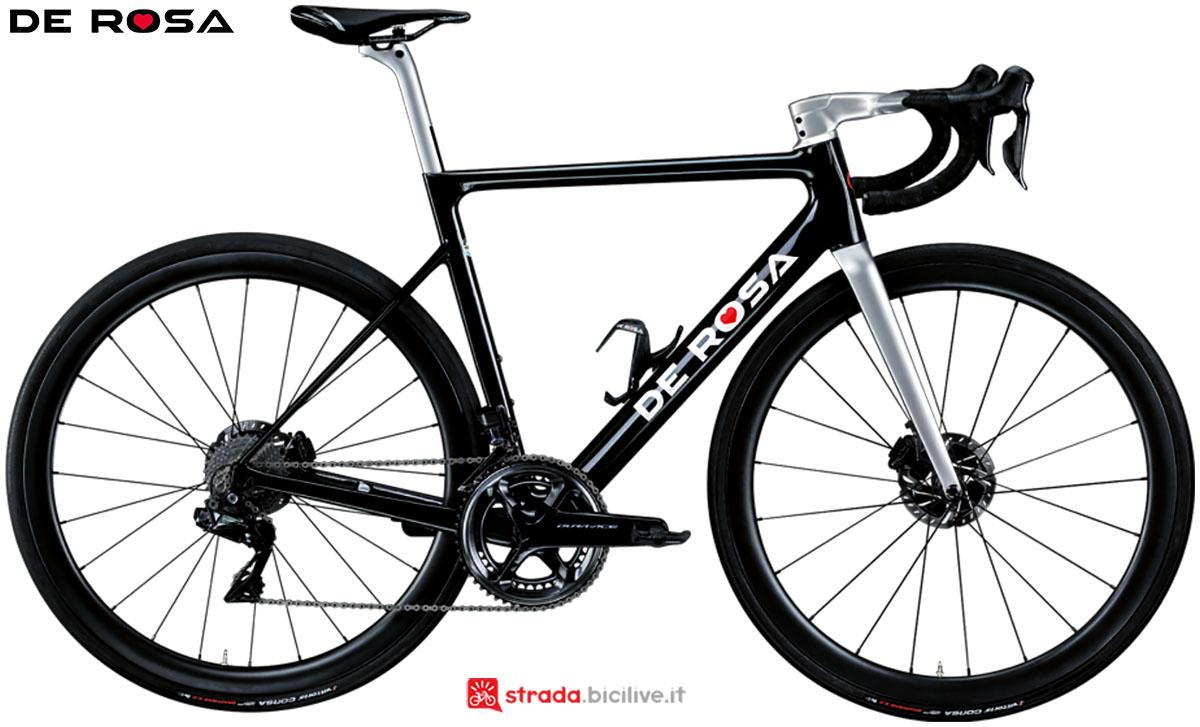 Una bici De Rosa Merak 2020