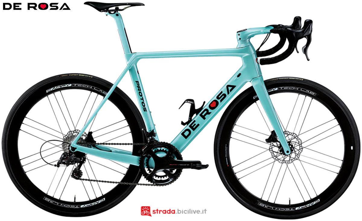 Una bici De Rosa Protos Disc 2020