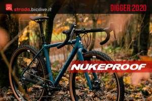 Nukeproof Digger 2020: una gravel ispirata dalla mtb