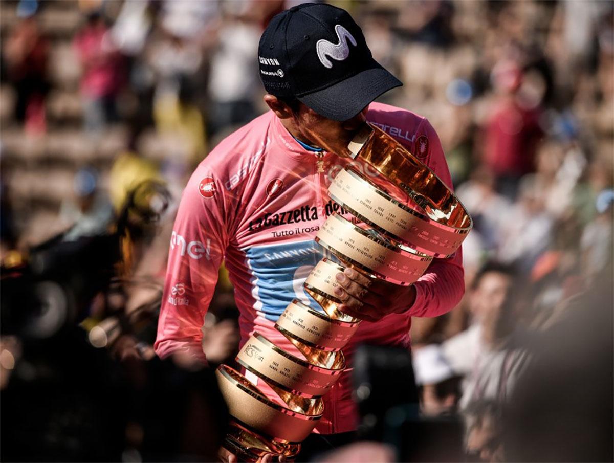 Il calendario UCI World Tour 2021 Giro d'Italia vincitore 2019 Richard Carapaz