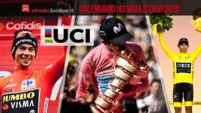 Il calendario UCI World Tour 2020: eventi e date