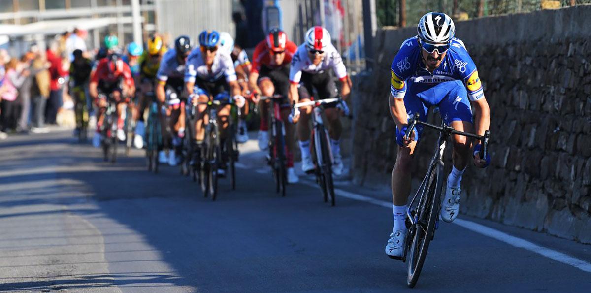Il calendario UCI World Tour 2020 Milano-Sanremo vincitore 2019 Julian Alaphilippe