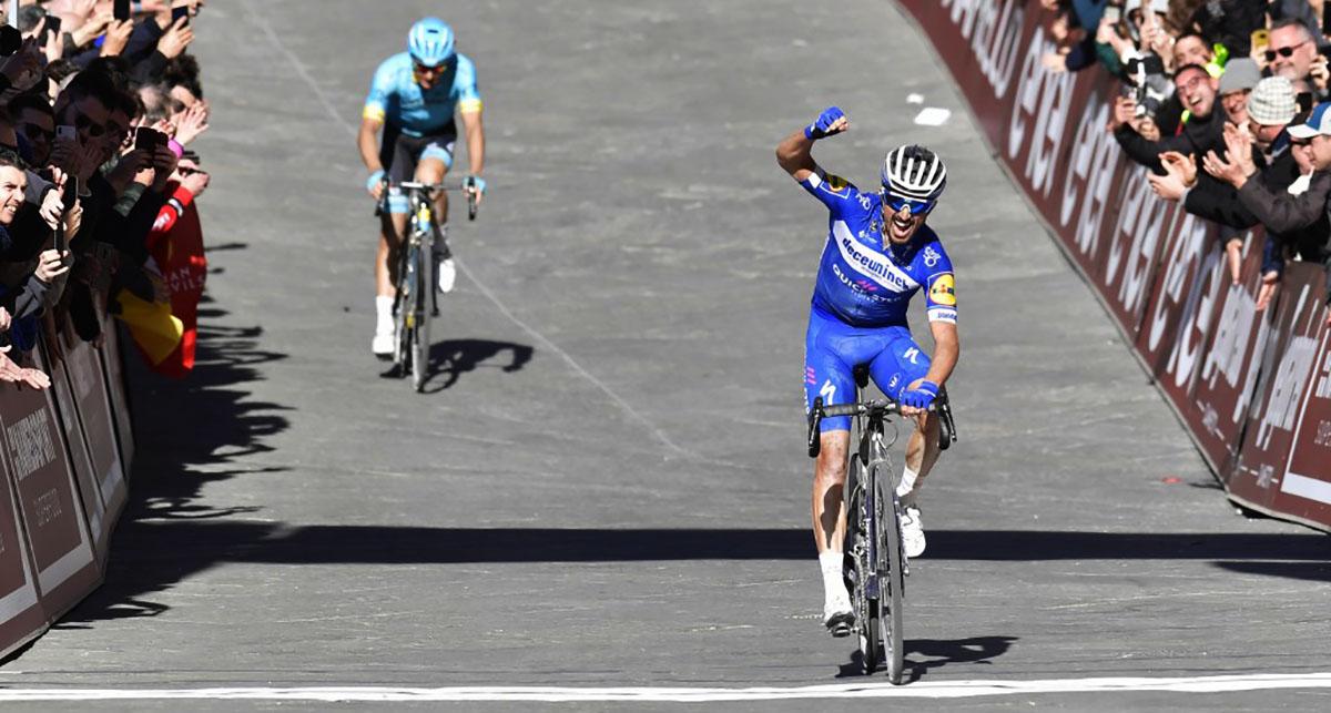 Il calendario UCI World Tour 2020 Strade Bianche vincitore 2019 Julian Alaphilippe