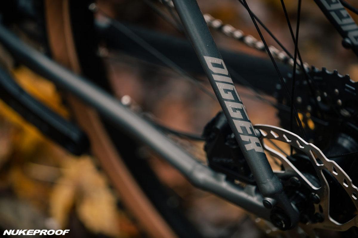 Dettaglio della bici Nukeproof Digger 2020