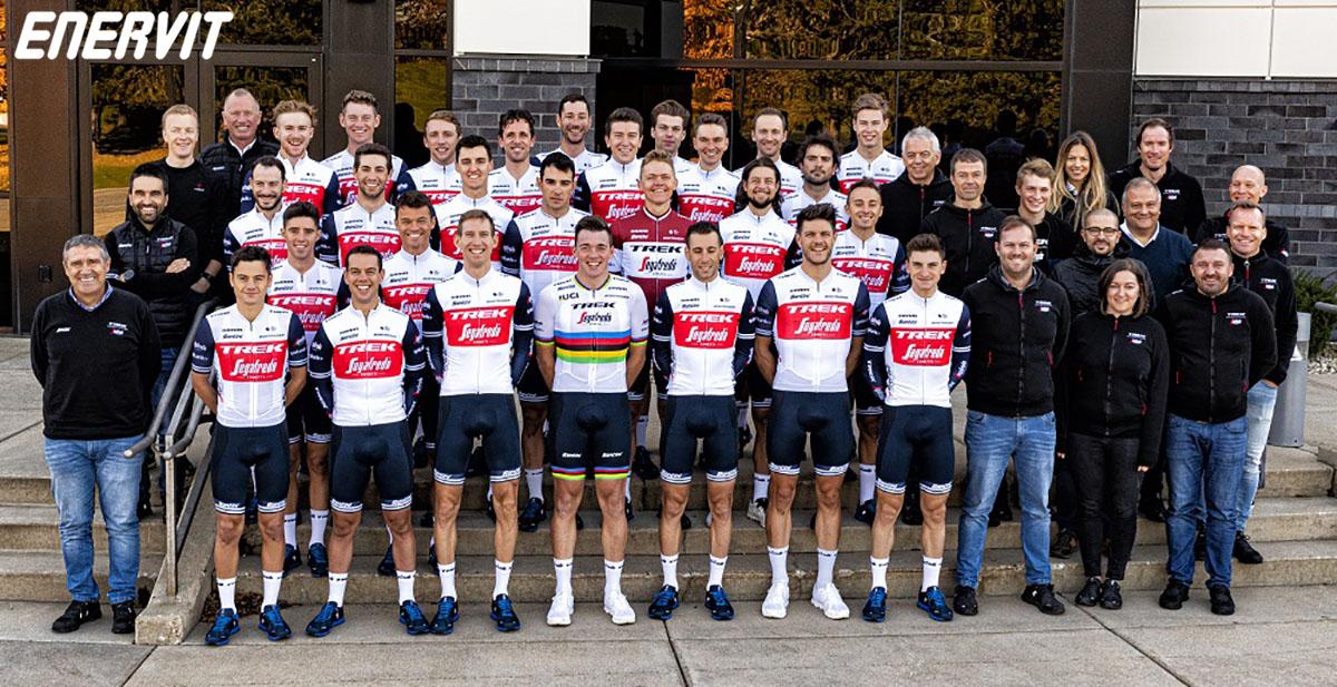 La squadra maschile Enervit & Team Trek-Segafredo 2020