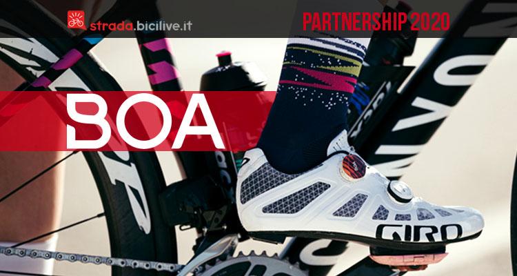 Boa rinnova la partnership con Bora-Hansgrohe e Canyon-SRAM