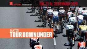 Santos Tour Down Under 2020: dal 21 al 26 gennaio
