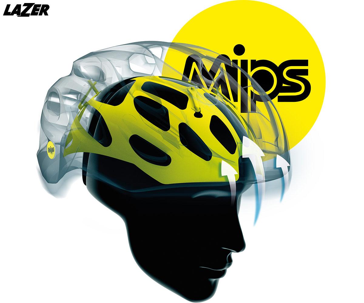 Il casco Lazer Century 2020 con sistema Mips