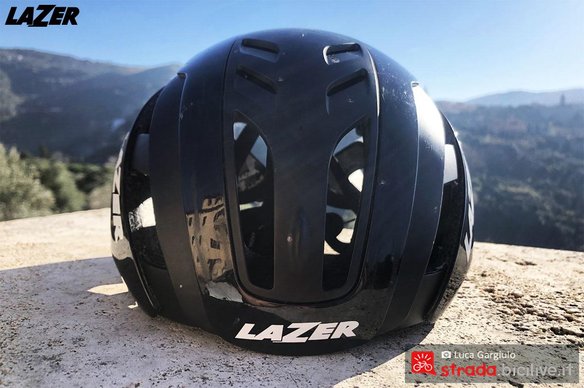 Il TwistCap montato sul casco Lazer Century 2020