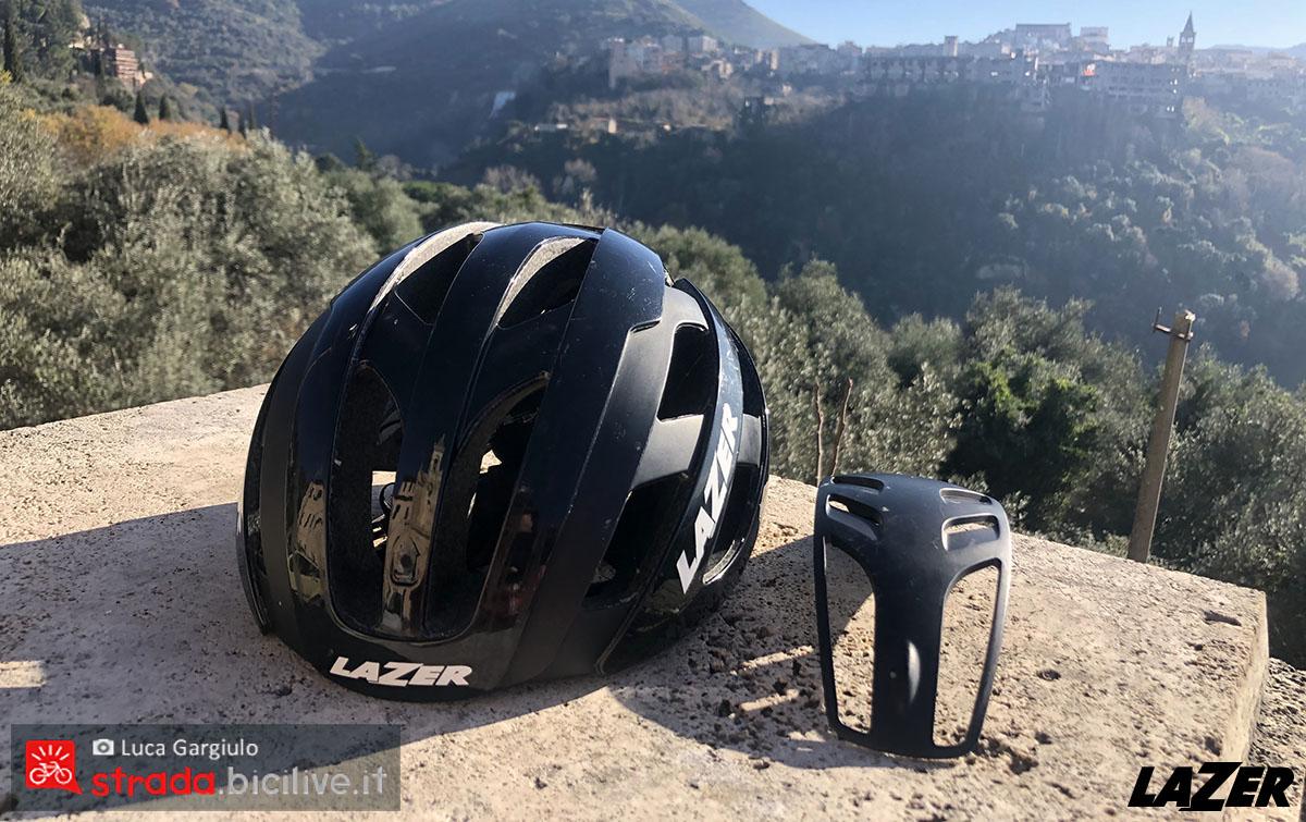 Il TwistCap smontabile sul casco Lazer Century 2020