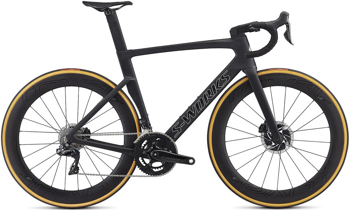 La bici Specialized S-Works Venge (Deceuninck-QuickStep e Bora-Hansgrohe) 2020