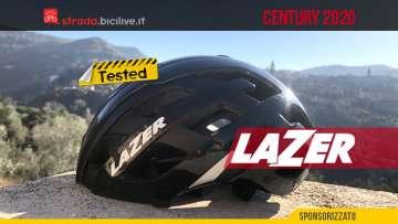 Il test del casco da ciclismo strada Lazer Century