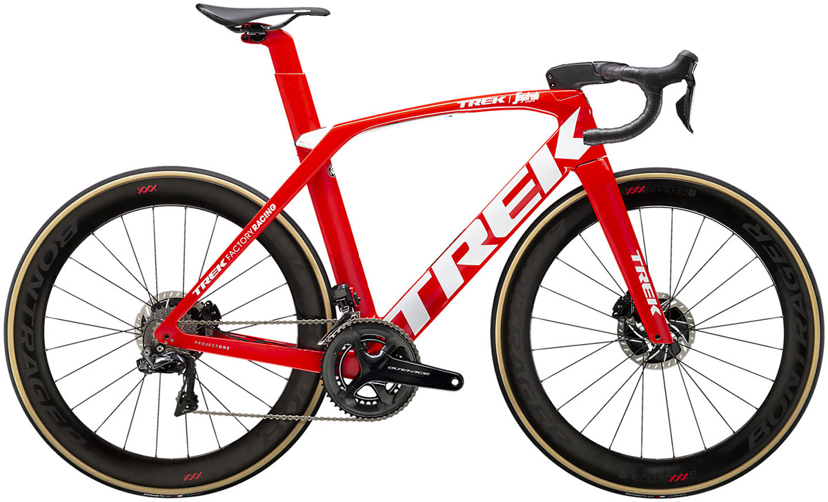 La bici Trek Madone SLR 9 (Trek-Segafredo) 2020