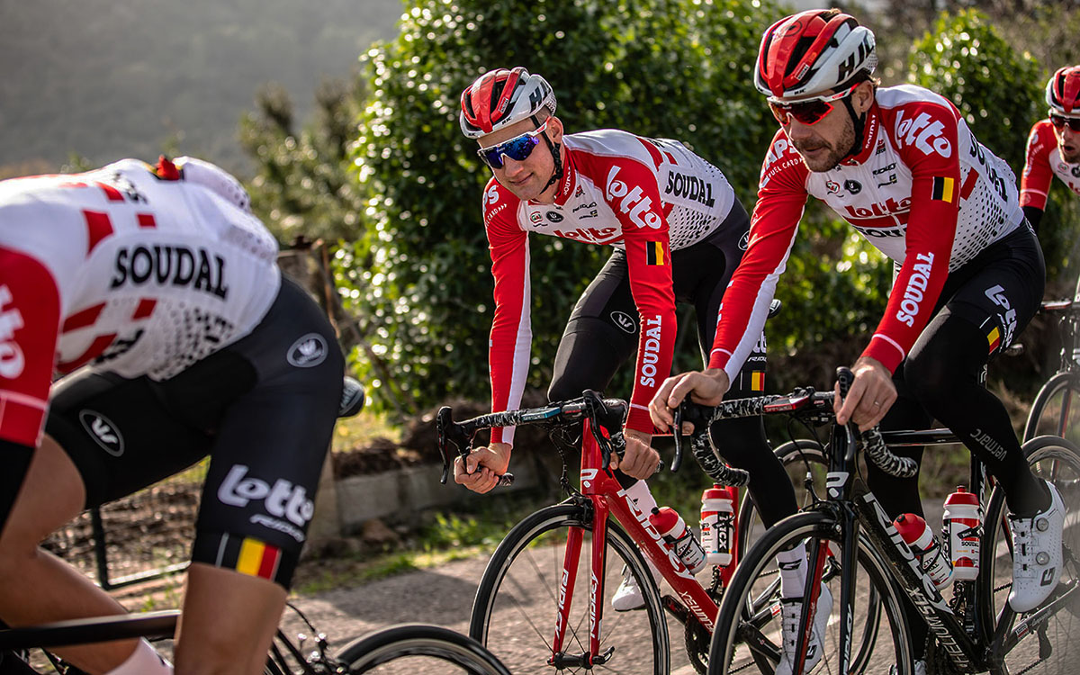 La squadra Lotto Soudal all'UCI World Tour 2020
