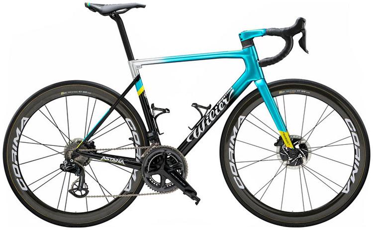 La bici Wilier Triestina Zero SLR (Astana Pro Team) 2020