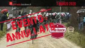 Strade Bianche 2020: gara annullata