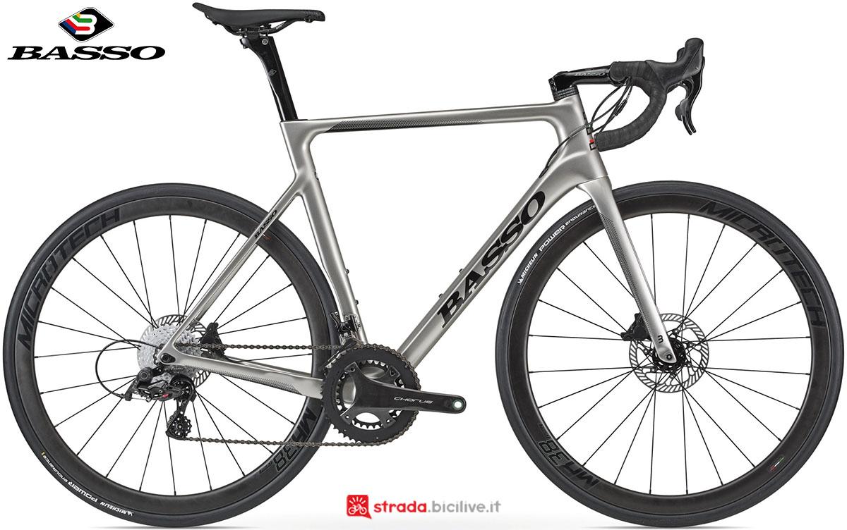 Una bici Basso Astra Disc 2020