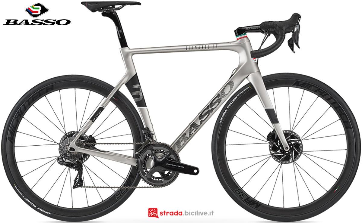 Una bici Basso Diamante SV Disc 2020