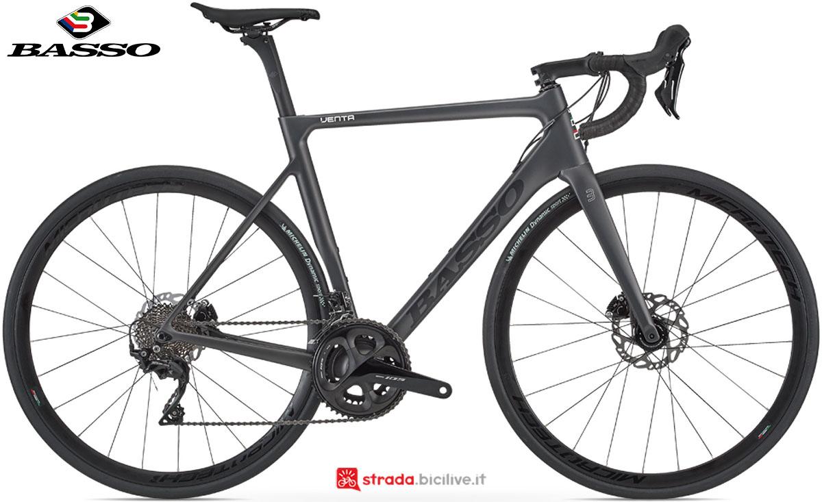 Una bici Basso Venta Disc 2020