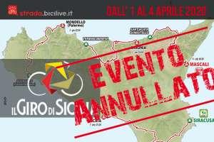 Giro di Sicilia 2020: gara annullata