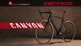 Canyon Ultimate CF Evo 2020: la nuova generazione ad alte prestazioni