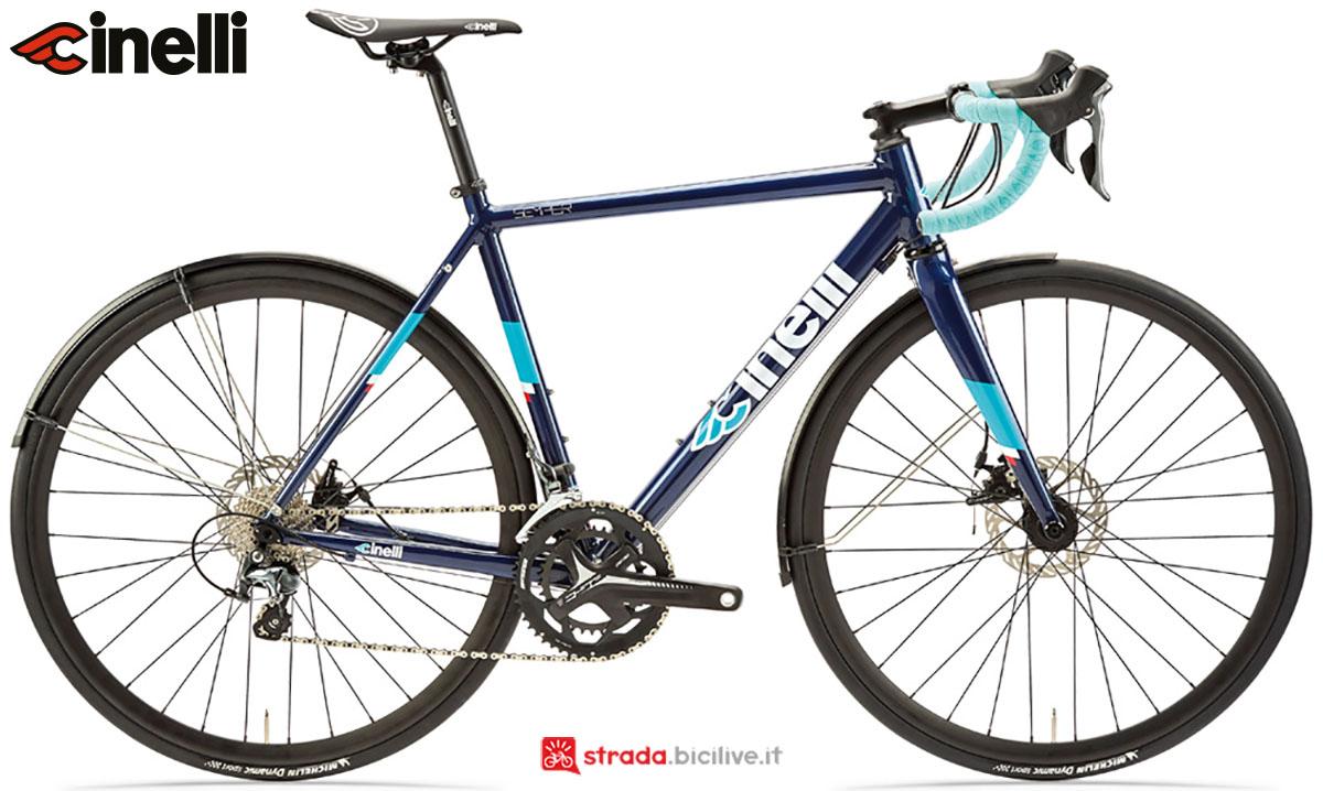 Una bici Cinelli Semper Disc 2020