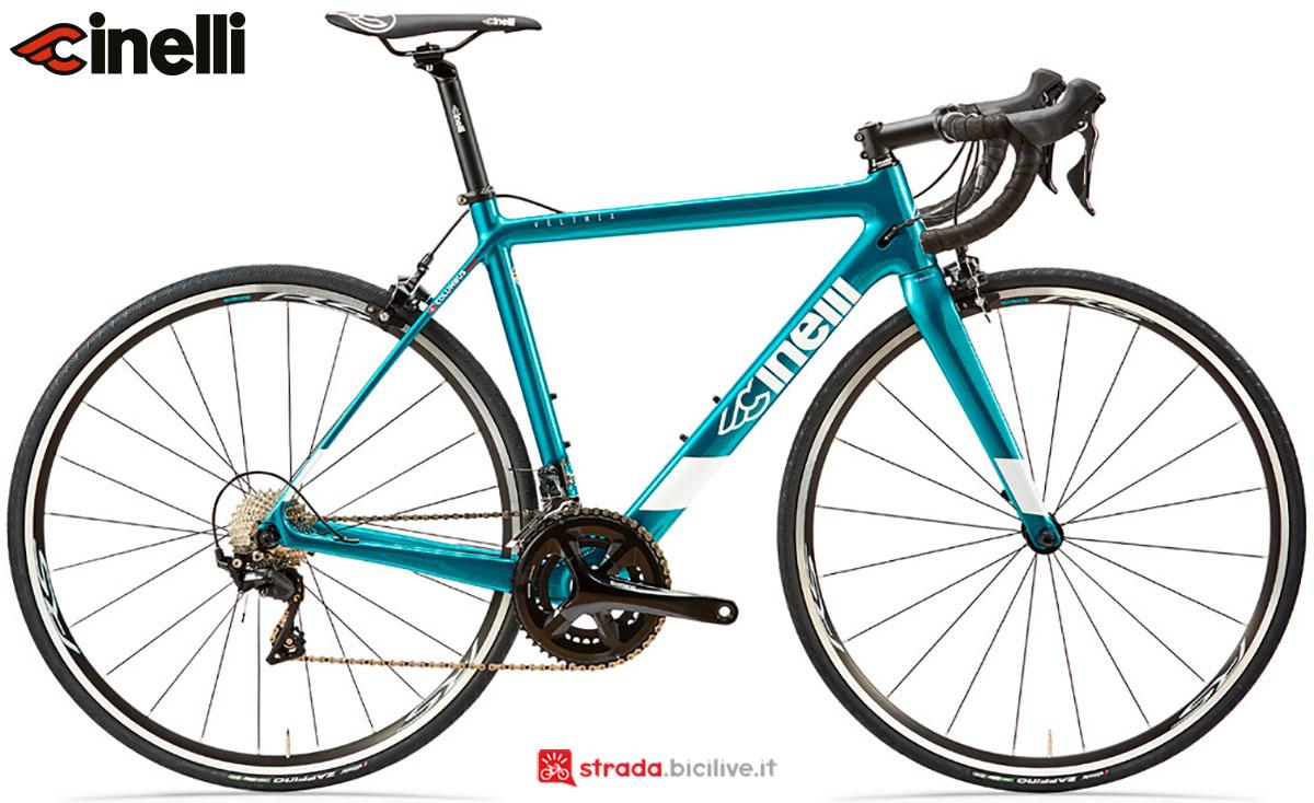 Una bici Cinelli Veltrix 2020
