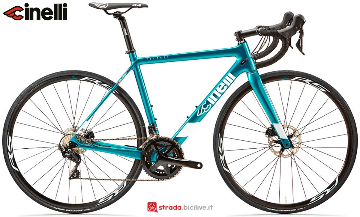 Una bici Cinelli Veltrix Disc 2020