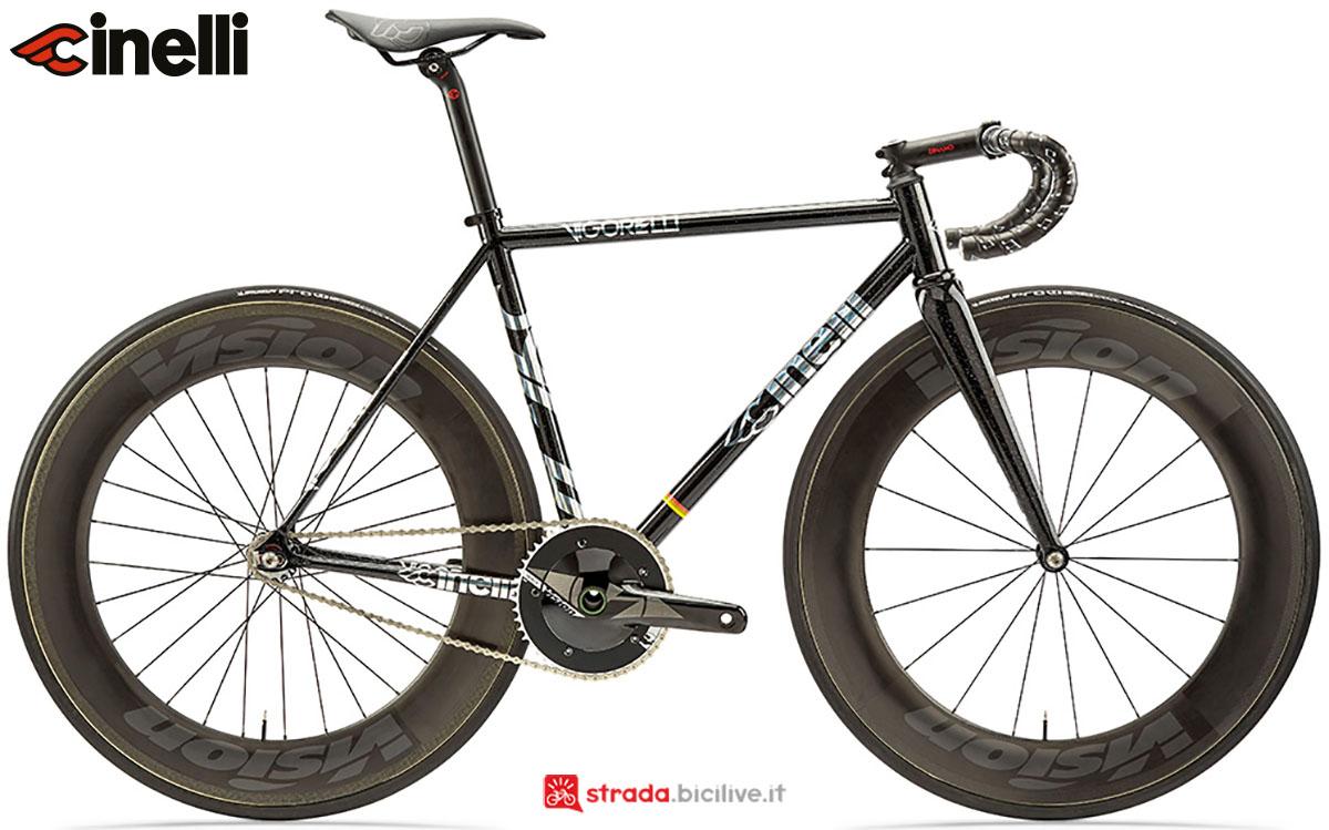 Una bici Cinelli Vigorelli 2020