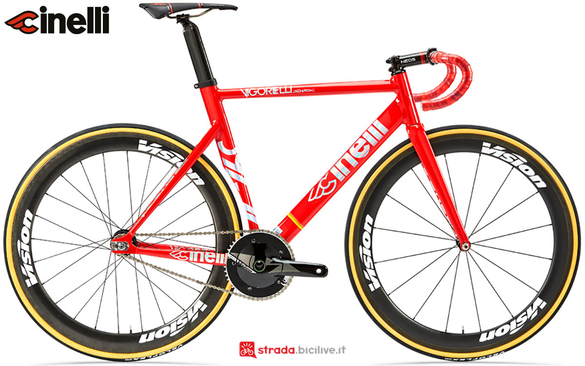 Una bici Cinelli Vigorelli Shark 2020