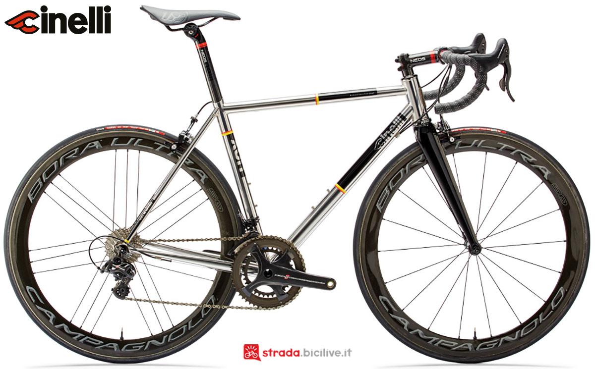 Una bici Cinelli XCR 2020