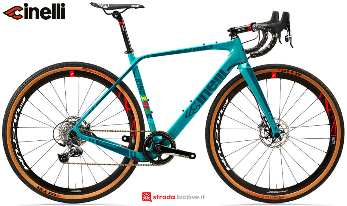Una bici Cinelli King Zydeco Disc 2020