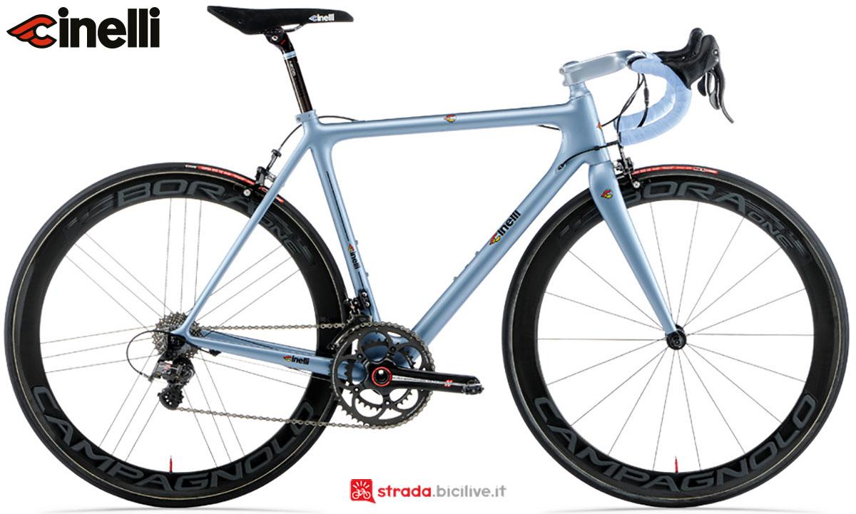 Una bici Cinelli Laser Mia 2020