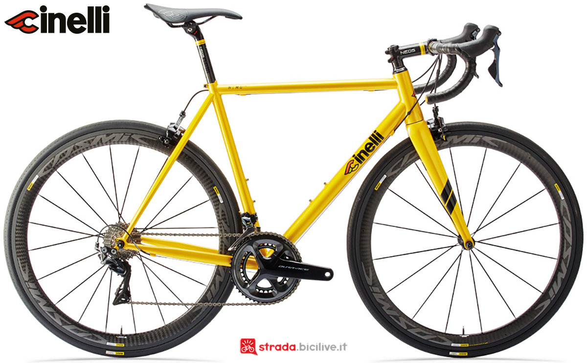 Una bici Cinelli Nemo TIG 2020