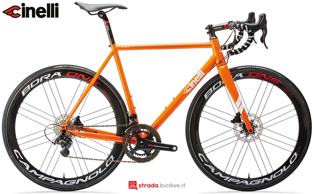 Una bici Cinelli Nemo TIG Gravel Disc 2020