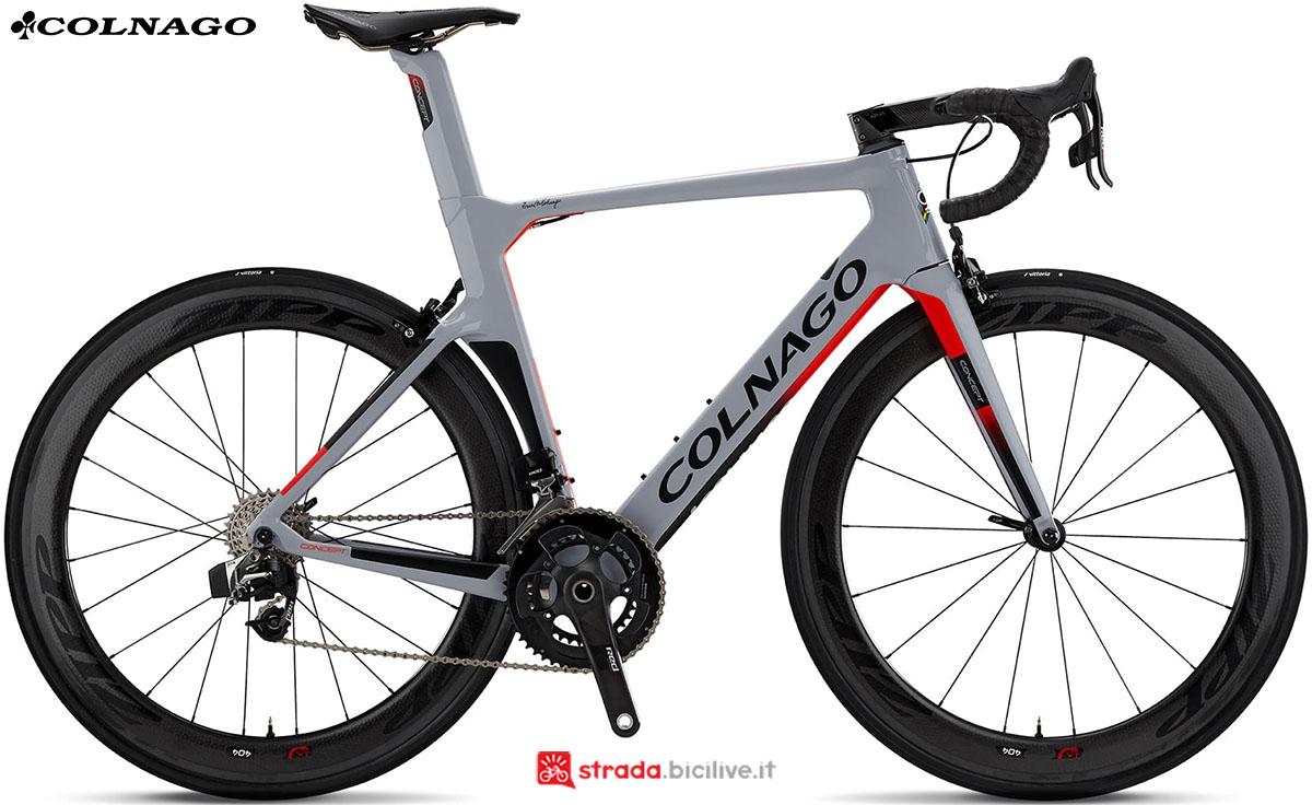 Una bici Colnago Concept 2020