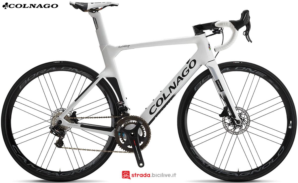 Una bici Colnago Concept Disc 2020