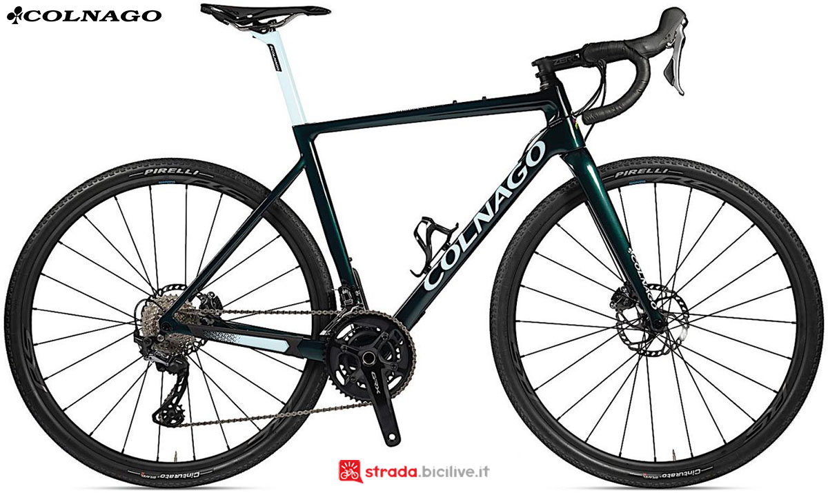 Una bici Colnago G3x 2020