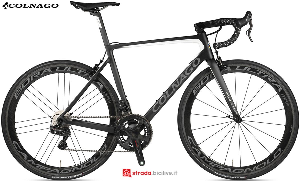 Una bici Colnago V3Rs 2020