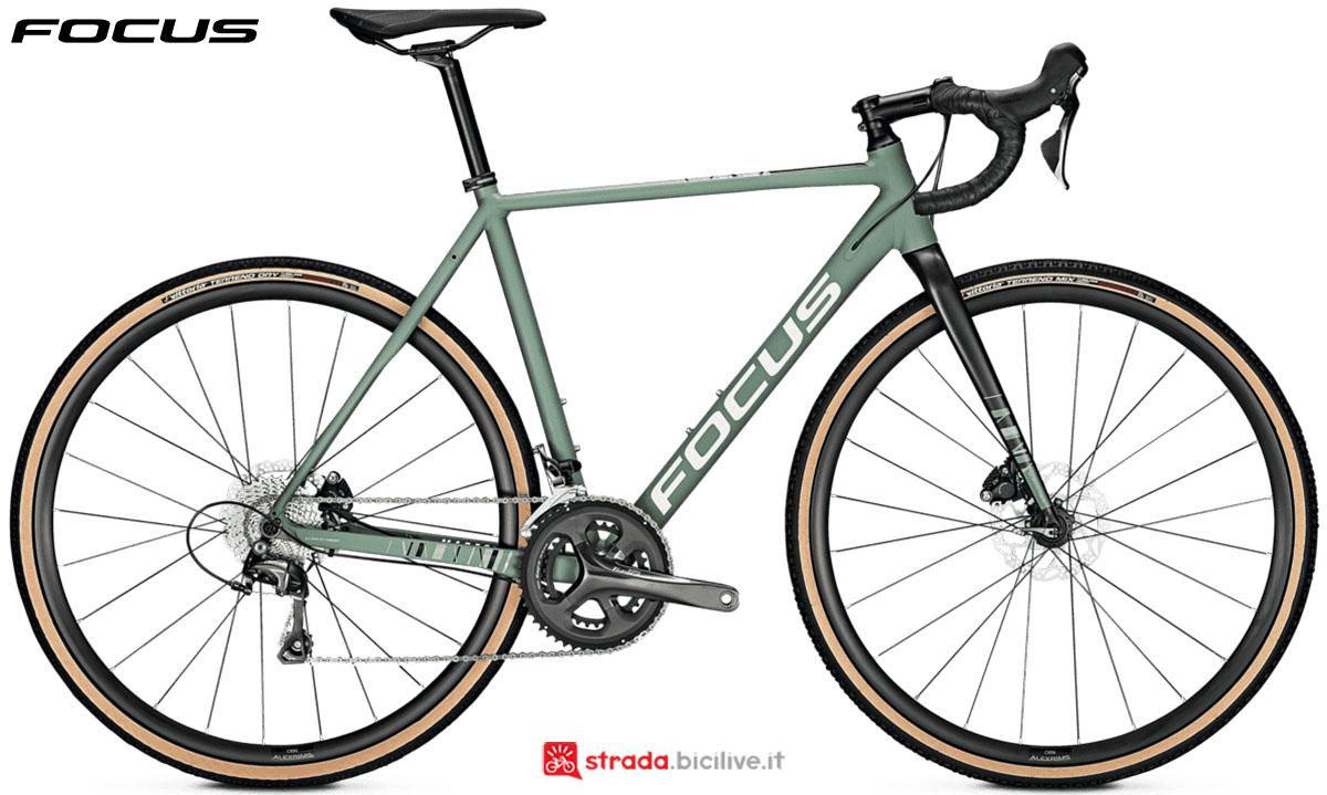 Una bici Focus Mares 6.8 Disc 2020