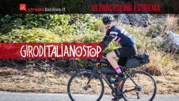 GIRODITALIANOSTOP 2020: ultracycling italiana tra paesaggi e cultura