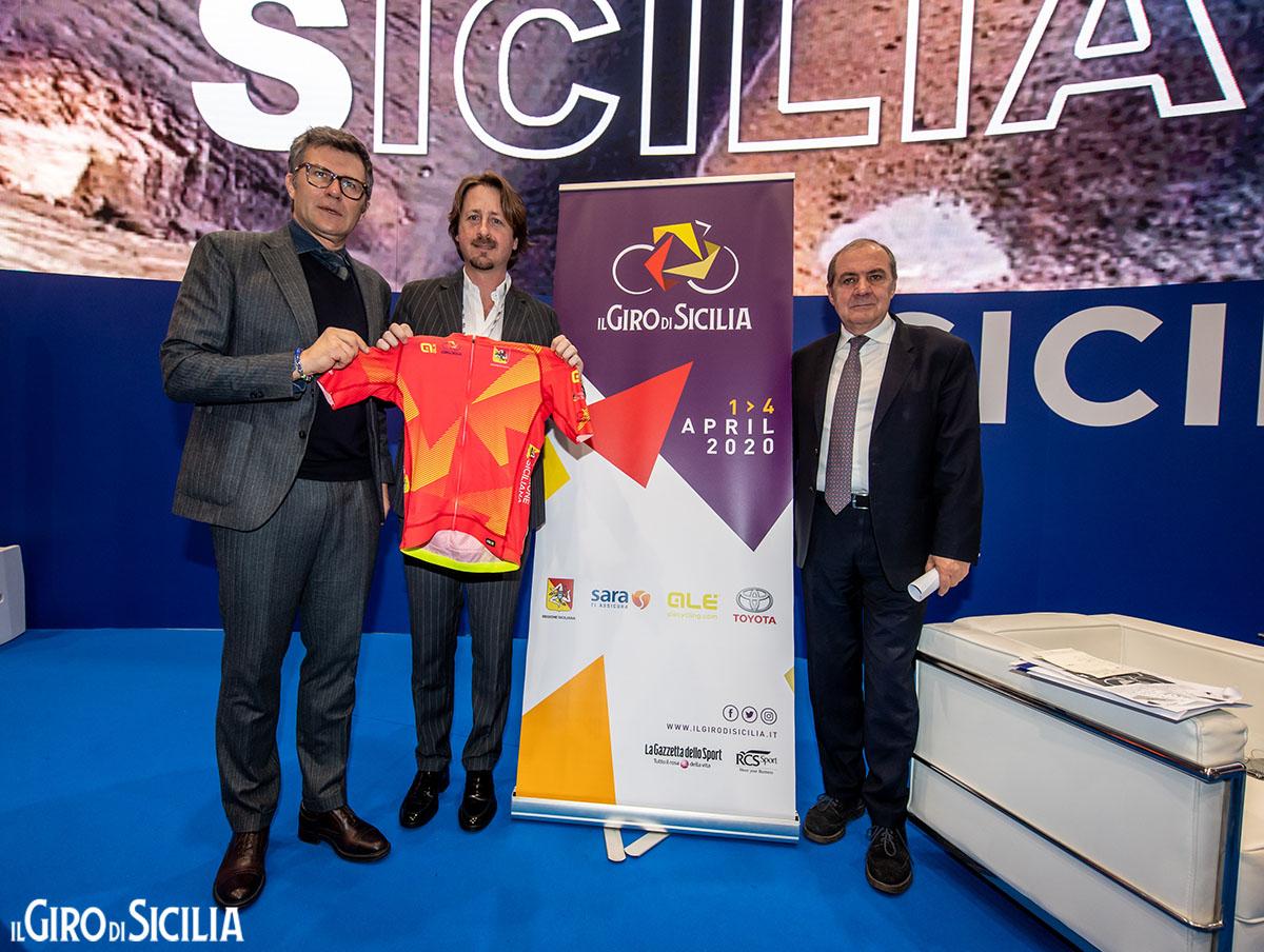 La presentazione ufficiale del Giro di Sicilia 2020