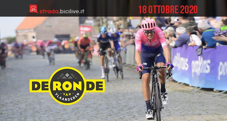 Giro delle Fiandre 2020: il 18 ottobre la 104a edizione